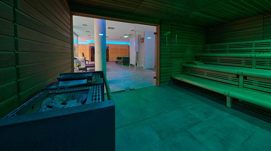 Sauna und Infrarot-Sauna