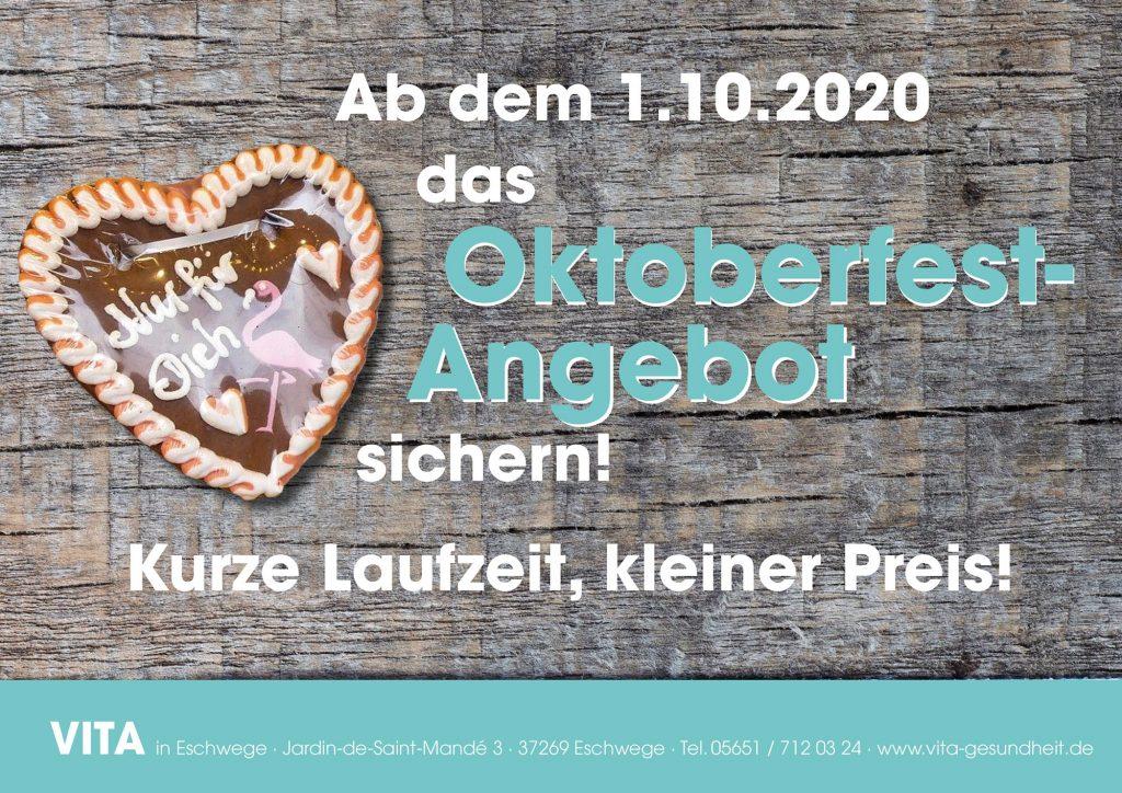 VITA Gesundheit - Eschwege - Oktoberangebot